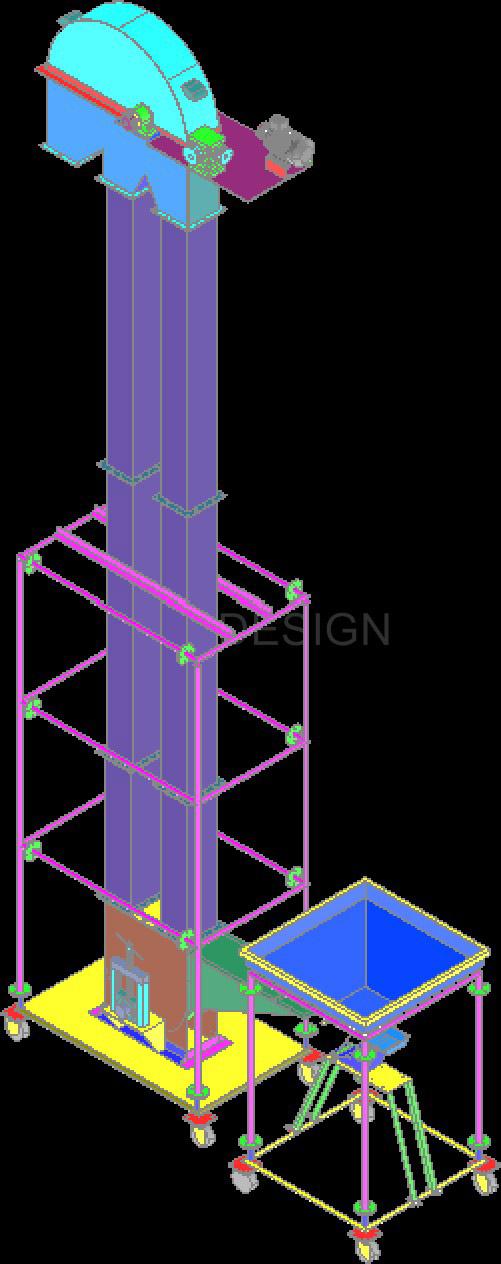 SINGHASINI BUCKET ELEVATOR