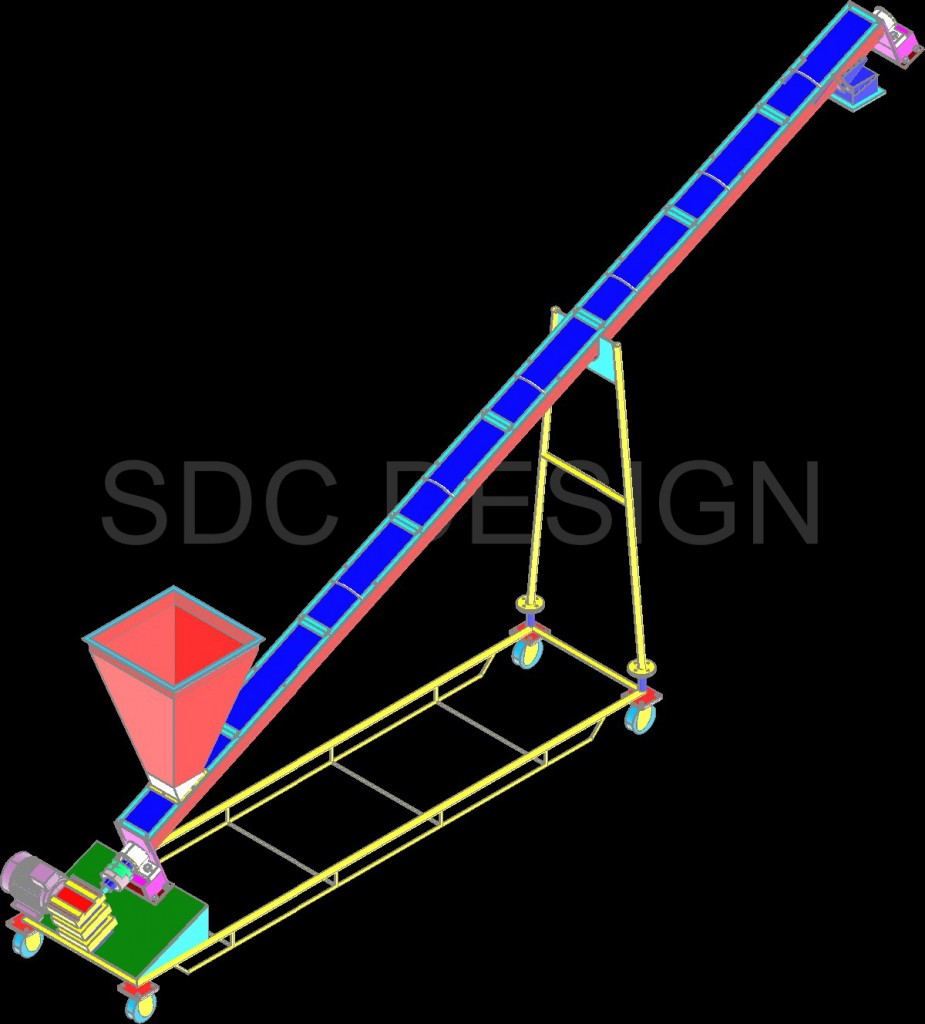 SINGHASINI INCLINE SCREW CONVEYOR